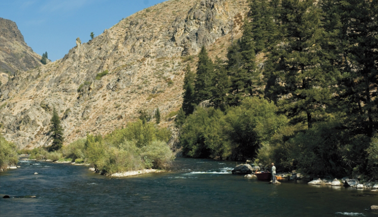 Certainly the South Fork Boise River, which lies about 70 miles east of Boise, is one of the West's most wonderful wild-trout fisheries.