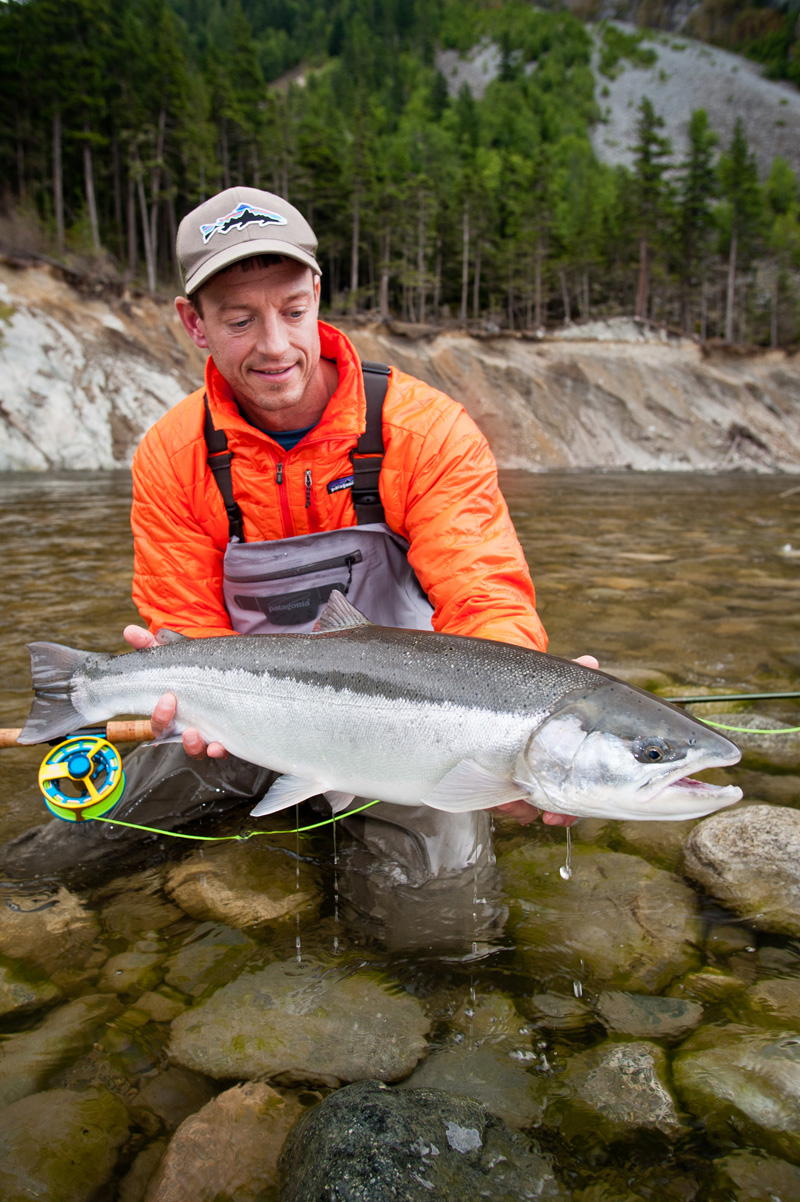 Find out what kind of reel that is, and why that steelhead on the cover of Fly Fisherman magazine looks so white, and so unlike a rainbow trout.