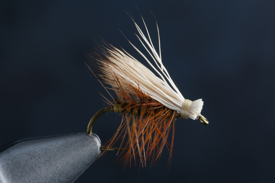 Elk Hair Caddis Recipe  Hook: TMC 100SP-BL or 100 Thread: Tan 6/0 Rib: Fine Copper Wire Body: