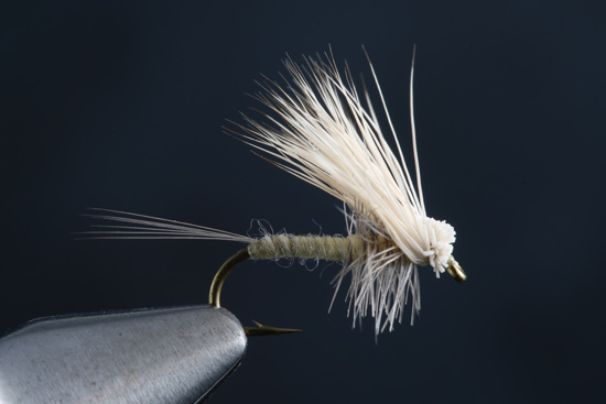 Fly Tying the Hair Wing Dun