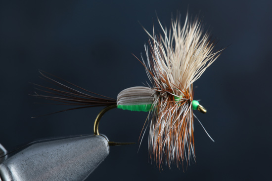 Fly Tying The Humpy step-by-steps and video with expert tier Charlie Craven.