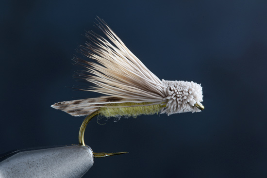 Fly Tying The Letort Hopper recipe, step-by-steps, and video with expert fly tier Charlie Craven.