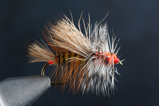Fly tying the Stimulator Fly step-by-step and how-to video featuring expert tier Charlie Craven.