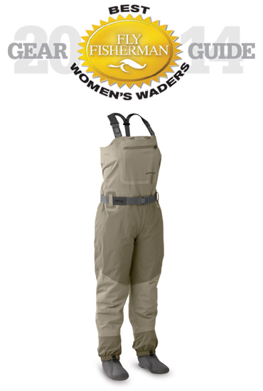 Orvis Silver Sonic Convertible-Top Waders. Comfortable and easy to move in, these convertibles give you options in warm weather.