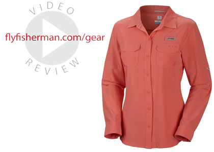 The Columbia Ultimate Chill II Long Sleeve Shirt kept me comfortable and happy during long summer days on the water, and the stand-up sun collar is actually tall enough to make a difference.