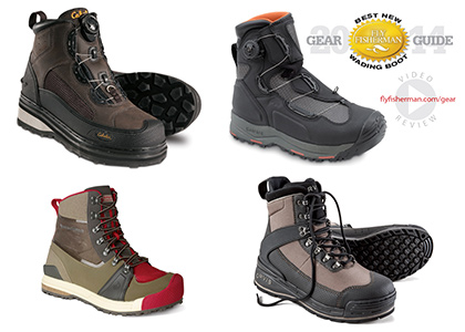 New Wading Boots: Stay Grounded