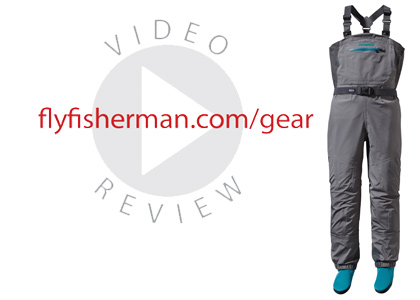 Patagonia has redesigned their women's waders for 2014 and brought several innovations to the market. One of which being their Patagonia Spring River Wader.