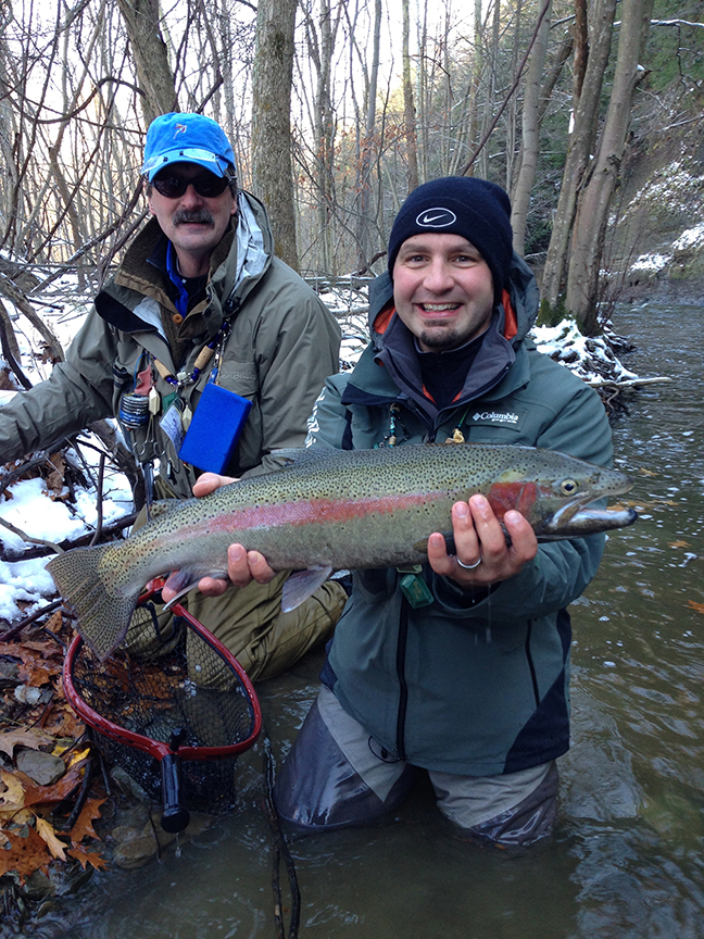 Congratulations to Willie Gilbertson for winning the Ford Outfitter Insider Adventure Giveaway Steelhead fishing trip with Ross Purnell, editor of Fly Fisherman Magazine.