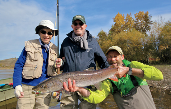 Jimmy Carter On Fly Fishing For Taimen