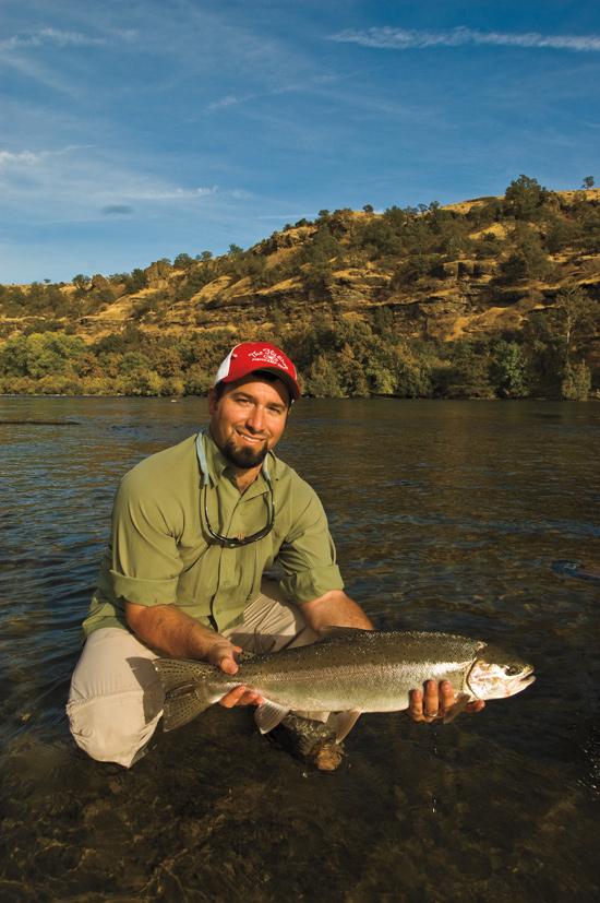California fly fishing fly fisherman for Trout fishing california