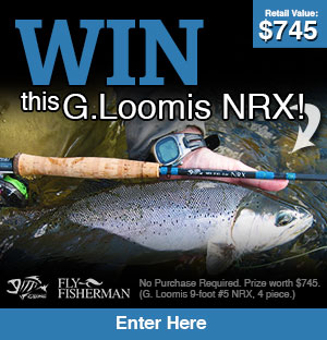 Win this G. Loomis Rod!