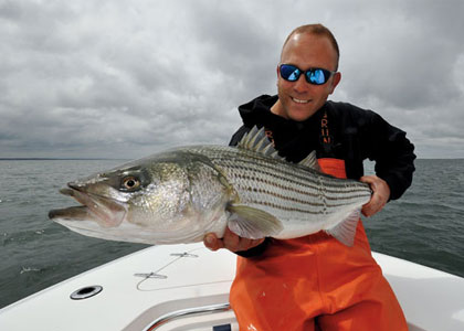 how to catch striped bass in salt water