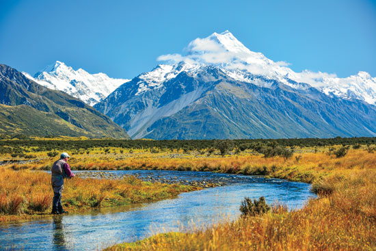 New zealand fly fishing lord of the rings fly fisherman for Fly fishing new zealand
