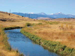 Before and after (above) photos of Silver Bow Creek show how a floodplain polluted by mining was restored by government and environmental agencies. Photo: Gregg Mullen, Montana State NRDA