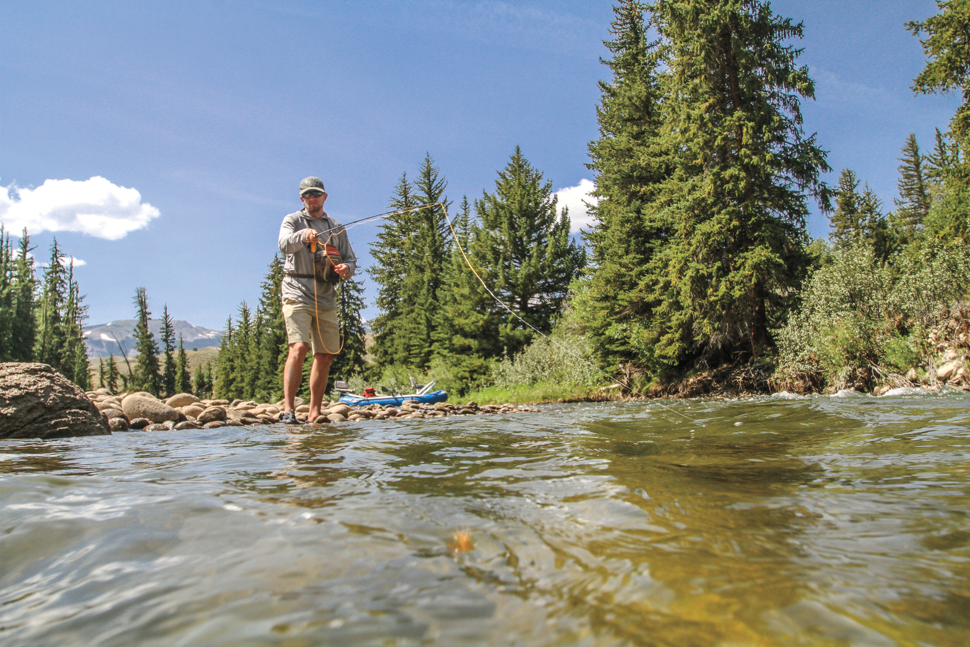 Fly Fishing the Gros Ventre