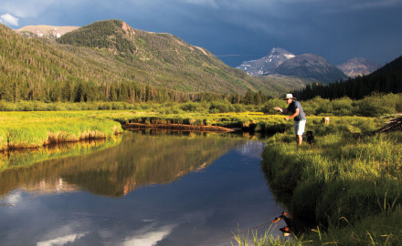 Utah's largest wilderness area remains mostly untapped by fly fishers Some anglers spend their