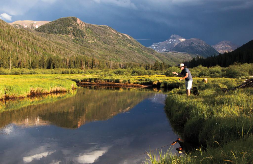 Exploring the uinta mountains fly fisherman for Utah fishing forum