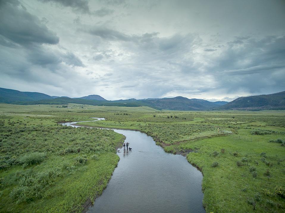 Mark Engler somewhere in the Rio Grande basin near Creede, Colorado.