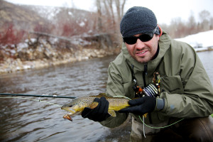 "Public access to parts of the Provo and Weber rivers was taken away by the so-called Stream Access law (HB141). This Adam Barker photo is from the April-May 2011 issue of FLY FISHERMAN and the story ""Locked Out"" by Brett Prettyman"