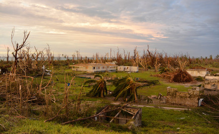 Farquhar Atoll Ravaged by Cyclone Fantala