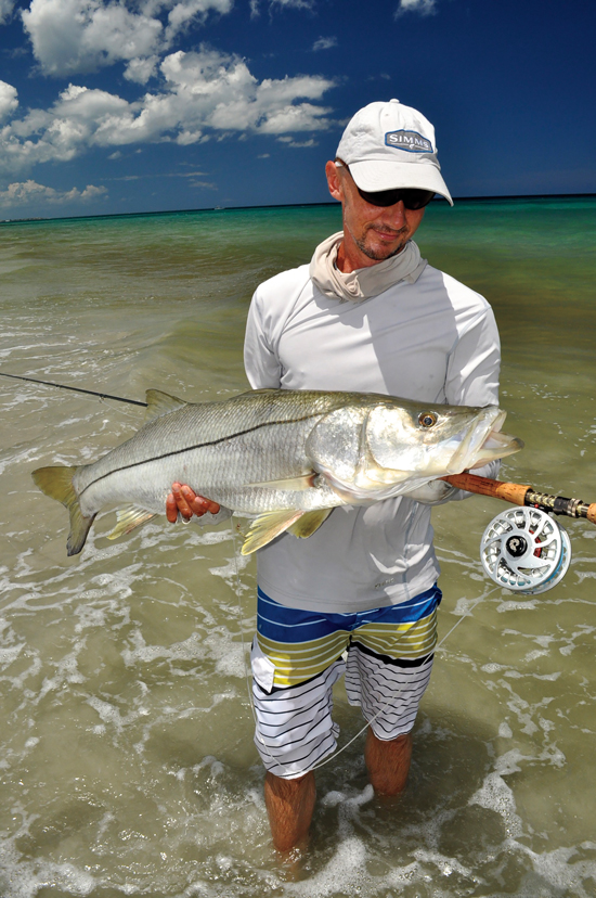 fly fishing snook fly fisherman