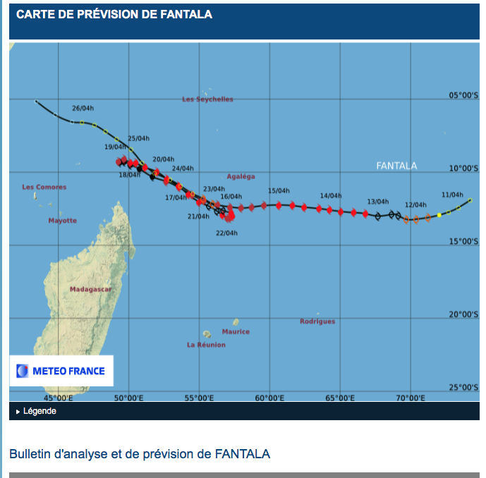 Cyclone Fantala went back and forth over Farquhar, hitting the island three times with sustained winds of 175 mph