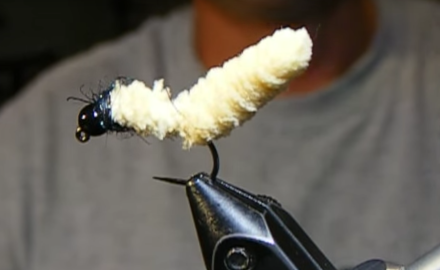 'Yes, I know, the mop fly pushes the envelope in terms of good taste, but trout can't seem to resist the Mop Fly!