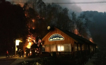 A spate of wildfires raging in wildlands and National Forests across western North Carolina,