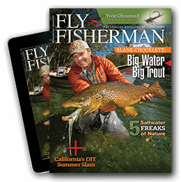 fly fisherman - the leading magazine of fly fishing, Fishing Reels