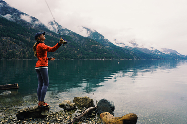 Women are naturally better fly fishers than men fly for Fly fishing girls