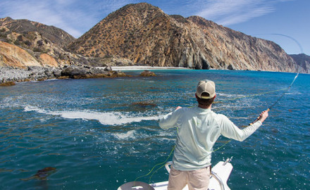 Along the California coast lies a fly-fishers buffet; Catalina Island. Beautiful, diverse, and unforgiving, this place will test the best of the best.