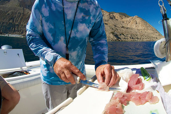 Slicing-Up-Fishing-on-Catalina-Island