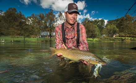 Perhaps the most important aspect of hunting big trout in big water is the mental game.