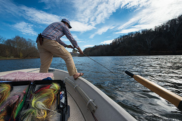 Flies and Strategies for Big Tailwater Browns