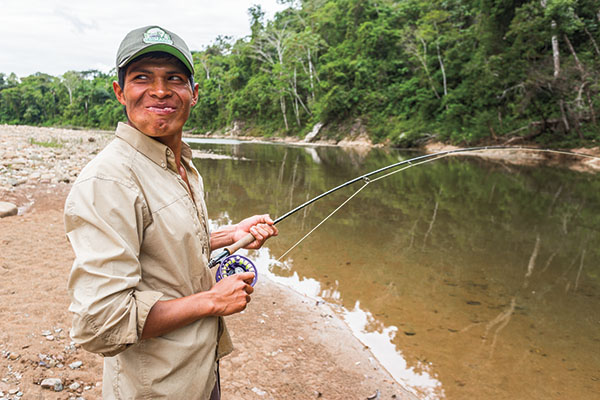 Pacu Fishing on the Sécure River