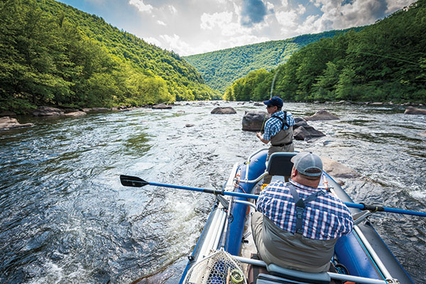 Fly-Fishing the Lehigh River