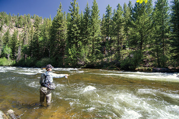 Fly fishing tips for current fishing