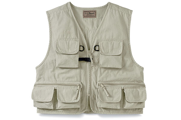 L.L. Bean Emerger Fishing Vest