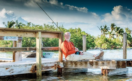 Sandy Moret was nominated for the 2018 Fly Fisherman Conservationist of the Year Award by Harold Brewer, chairman of the board of Bonefish & Tarpon Trust (BTT).