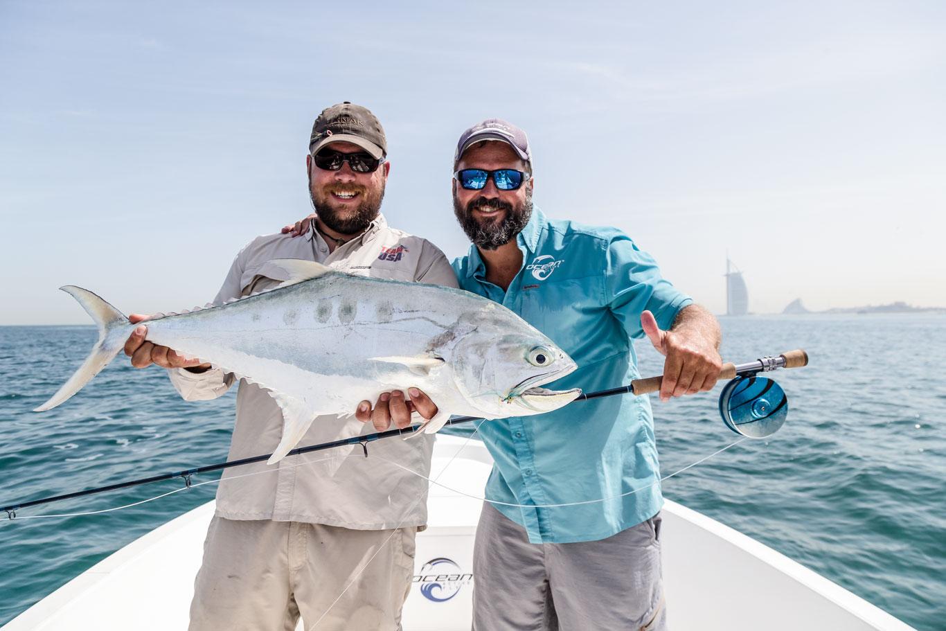 Dubai on the fly fly fisherman for Fishing in dubai
