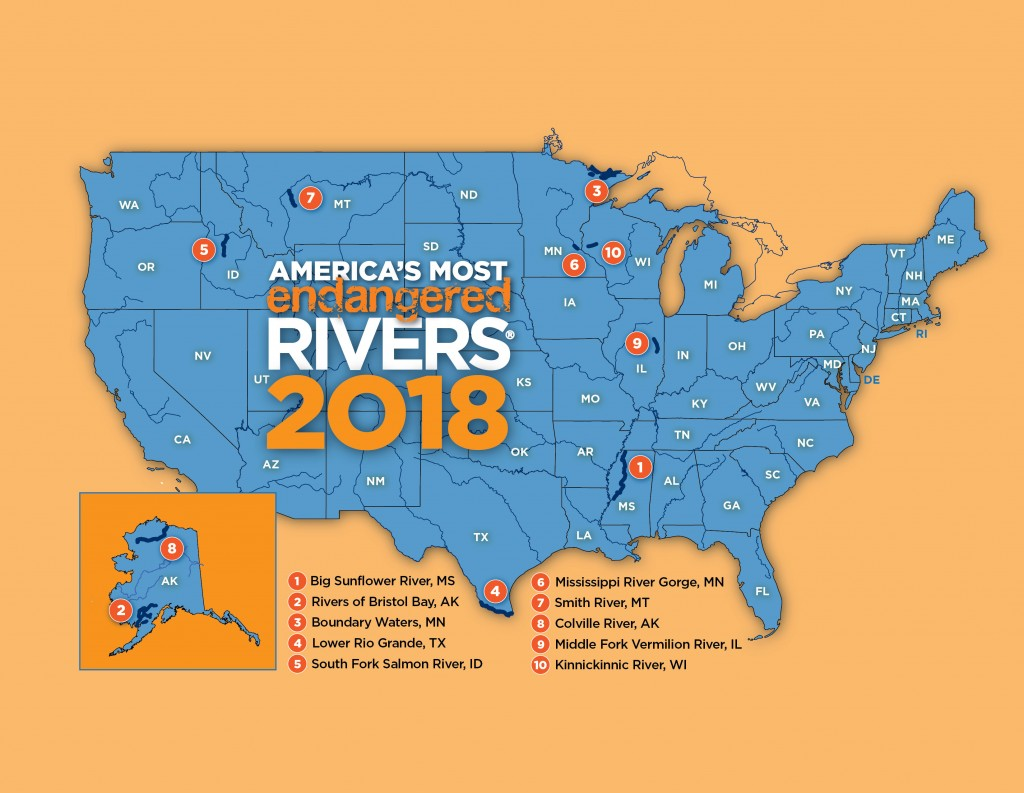 America's Most Endangered Rivers of 2018