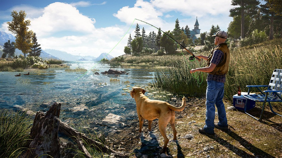 Far Cry 5 The Best Fly-Fishing Simulator Yet