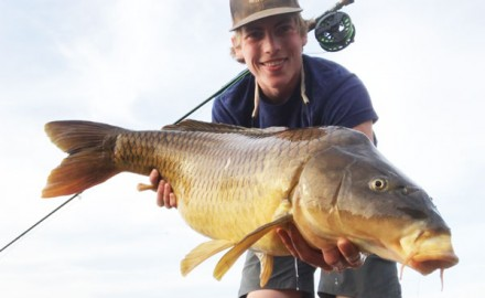 Kurt Gutormson, of South Dakota, may potentially have broken the Line-Class World Record Carp. Read all about this amazing catch, here!