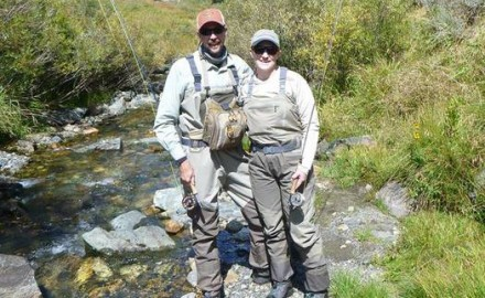 Fly fishing world mourns as news breaks of well-known midwestern guides Brian Schumacher and his wife Janet Veit losing their lives in a fishing mishap in the frigid waters of Iceland.