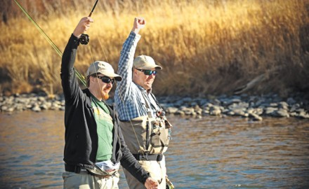 Dan Vermillion is doing more than training a new generation of fly-fishing guides. He's training future riverkeepers, mentors, and conservationists.