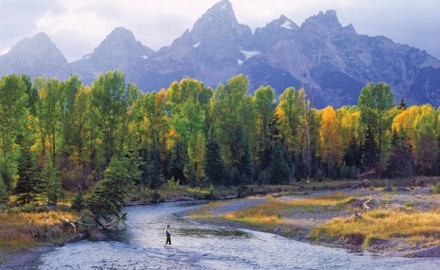 Wyoming's Snake River continues to provide a fishing experience duplicated on few other waters.