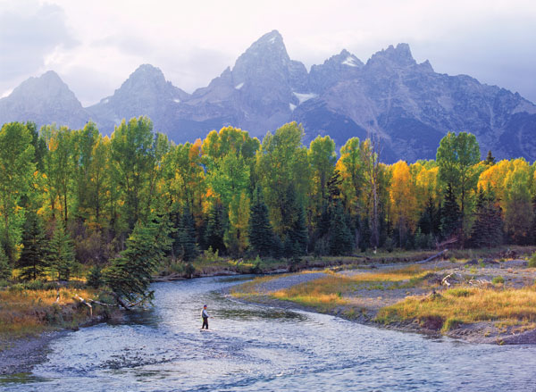 Wyoming's Snake River is Cutthroat Nirvana