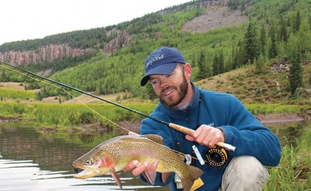 Elk Creek, a tributary of the Conejos River, offers diverse water types in a pristine setting.