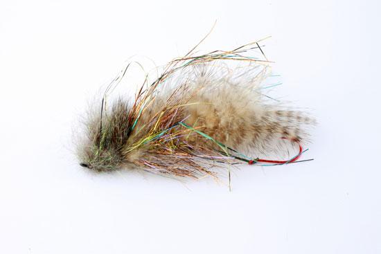 6 Hot Head Crystal Cat Zonkers Winter LURES Size 10 Wet Flies