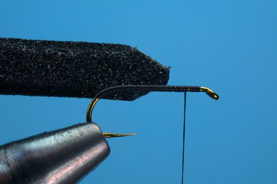 Fly Tying Foam Beetle Fly Fisherman